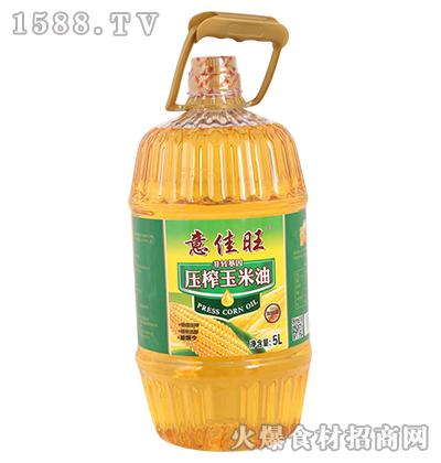 意佳旺非转基因压榨玉米油5L