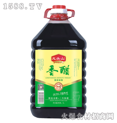 龙头山香醋(三年陈酿)5L