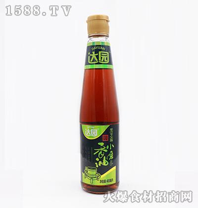 达园-黑芝麻小磨香油(金标)400ml