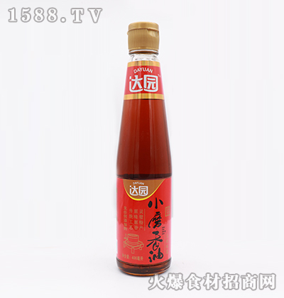 达园-小磨香油400ml