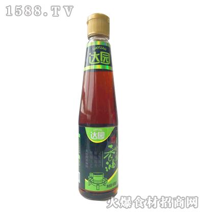 达园-黑芝麻小磨香油400ml