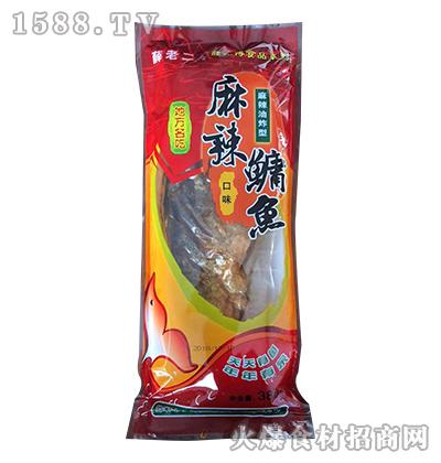 薛老二麻辣鳙鱼(麻辣油炸型)380克
