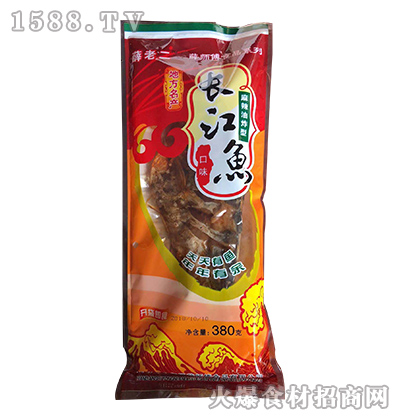 薛老二长江鱼(麻辣油炸型)380克