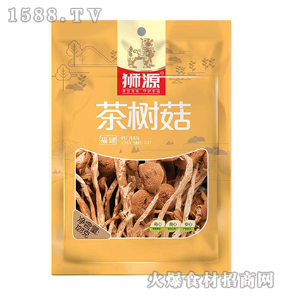 狮源茶树菇128克