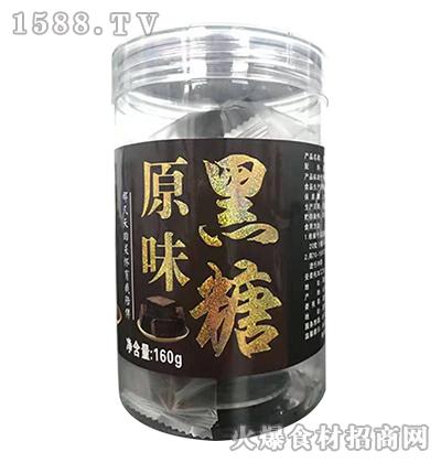 鲁益原味黑糖160g
