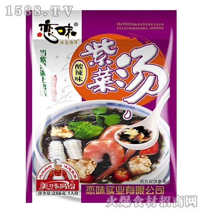 恋味酸辣味紫菜汤66g