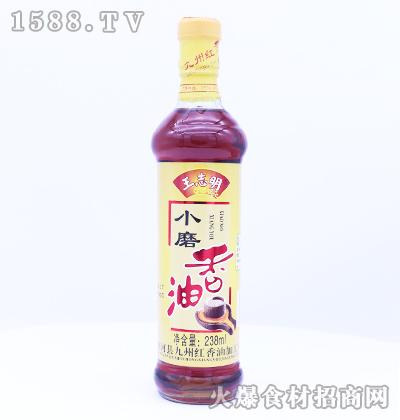 王志明小磨香油238ml