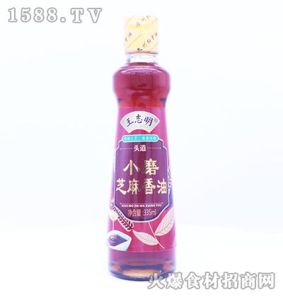 王志明小磨芝麻香油335ml