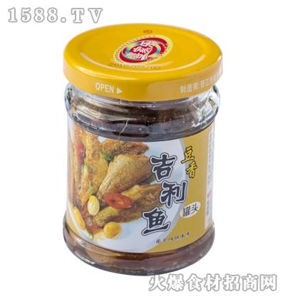 喜家乐豆香吉利鱼罐头130g