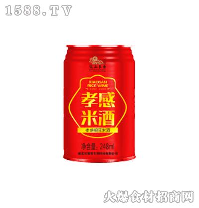 饭山米香孝感米酒248ml