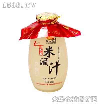 饭山米香孝感米酒汁430ml