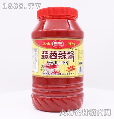 鲜味族蒜蓉辣酱1.8kg