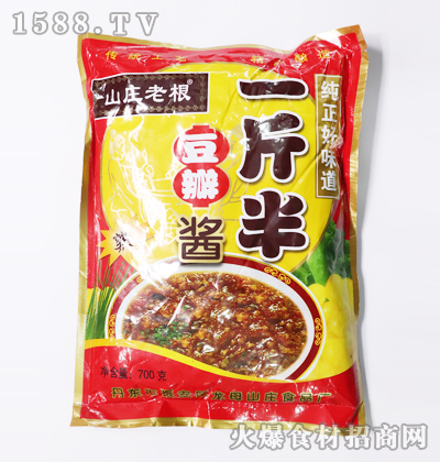 山庄老根一斤半豆瓣酱700克