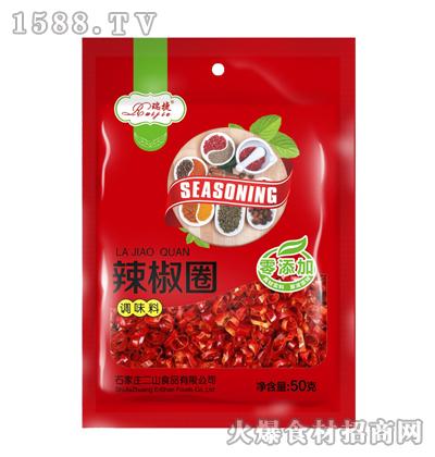 瑞捷辣椒圈50克