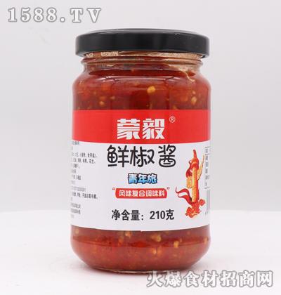 蒙毅鲜椒酱210克