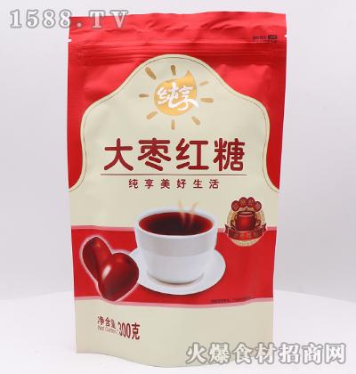 纯享大枣红糖300克