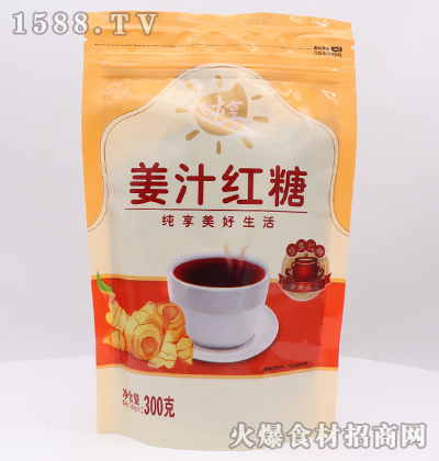 纯享姜汁红糖300克