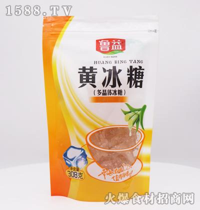 鲁益黄冰糖(多晶体冰糖)308克