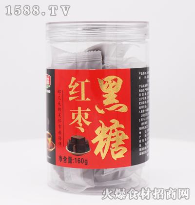 鲁益红枣黑糖160g