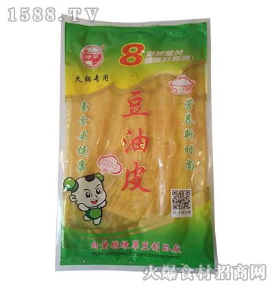 绿翠豆油皮(火锅专用)