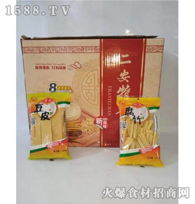 绿翠腐竹豆皮箱装