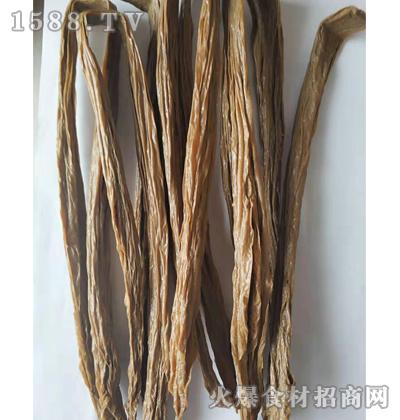 绿翠黑豆腐竹