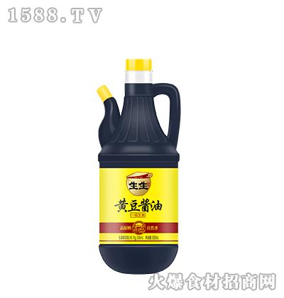 生生酱园-黄豆酱油800ml