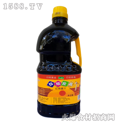 口珍-红烧酱汁1L