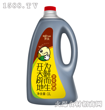 开天葱姜料酒1L