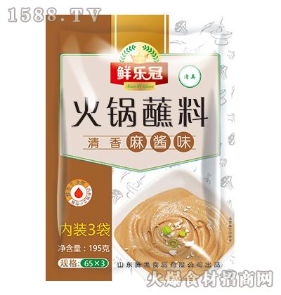 鲜乐冠火锅蘸料(清香麻酱味)195克