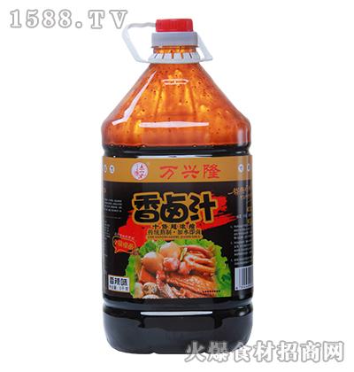 万兴隆香辣味香卤汁5千克