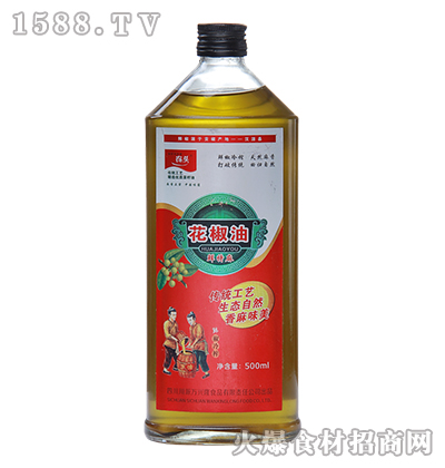农头花椒油(鲜特麻)500ml