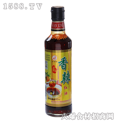 万兴隆香辣红油 410ml
