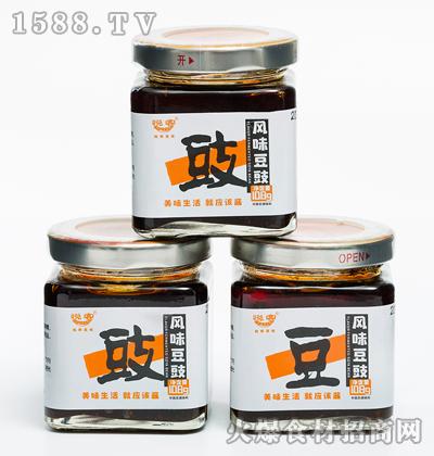 悦客风味豆豉酱108g