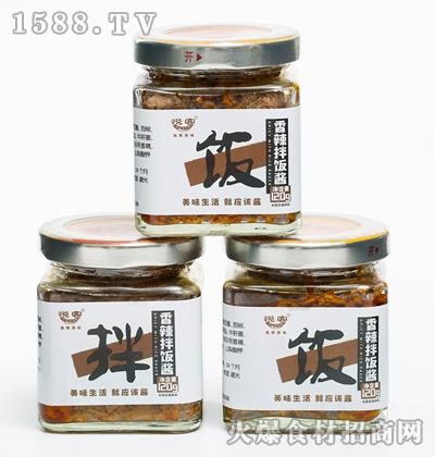 悦客香辣拌饭酱120g