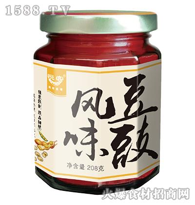 悦客风味豆豉208克