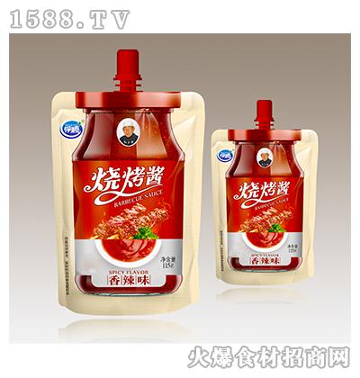 伊顺-香辣味烧烤酱115g