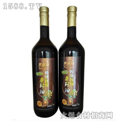 草庙山传统压榨菜籽油1L