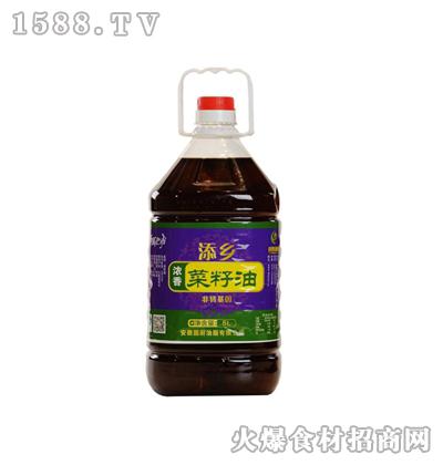添乡浓香菜籽油20升