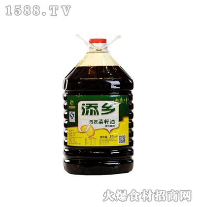 添乡传统菜籽油20升