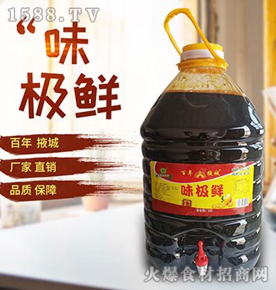 百年掖城味极鲜酱油17.5L