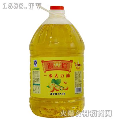 银拾一级大豆油12.5升