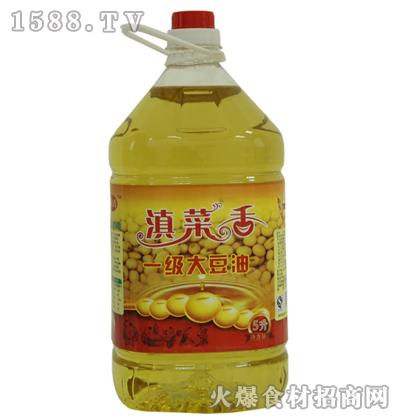 滇菜香一级大豆油5升