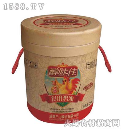 醇味佳食用鸡油浓香型15kg