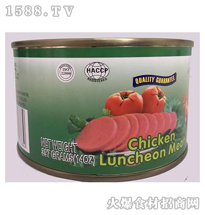 宾太牌鸡肉午餐肉罐头397g
