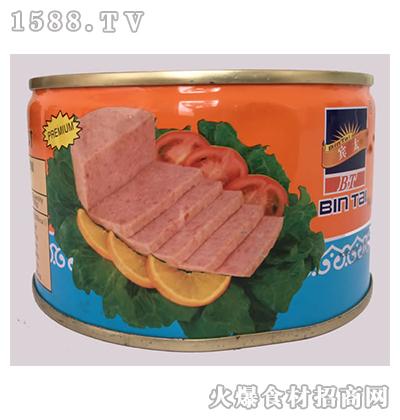 宾太牌午餐肉罐头397g