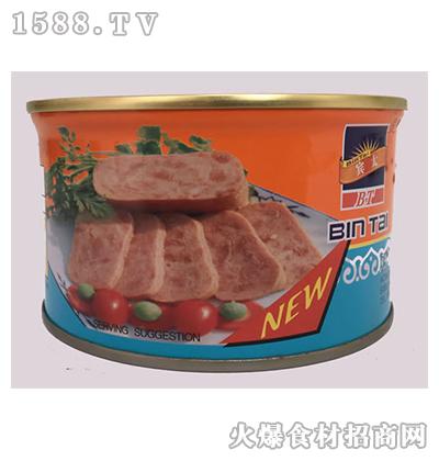 宾太牌优质午餐肉罐头397g