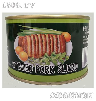 宾太牌红烧扣肉罐头397g