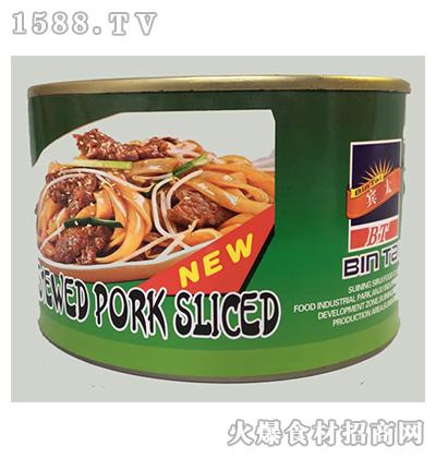 宾太牌红烧扣肉炒米粉罐头397g