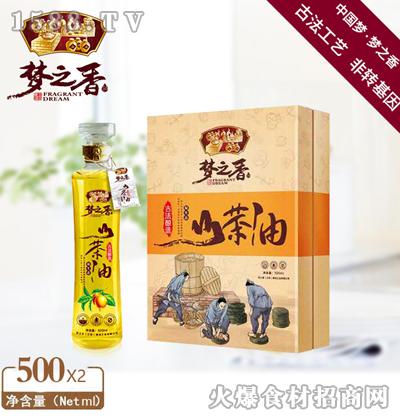 梦之香山茶油500ml